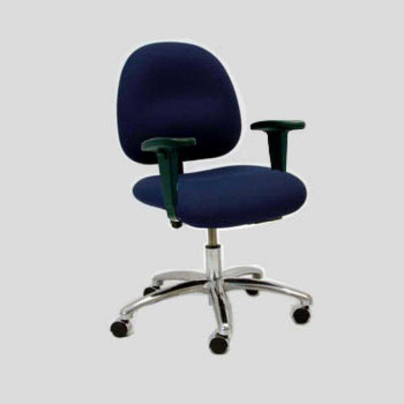 office chair under 3000 swing price in india gibo kodama series esd safe adjustable 17 21 1 2 fabric desk with arm rests and braking casters