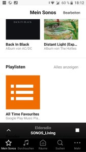 My Sonos - Android App