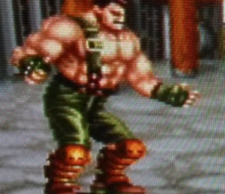 Final Fight 2 - Haggar Closeup - Composite