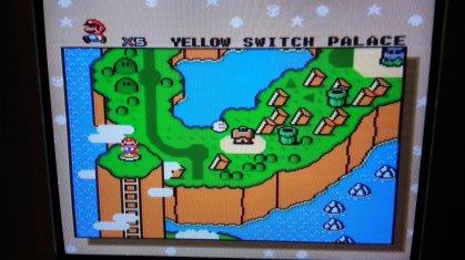 Super Mario World - World Map - Composite