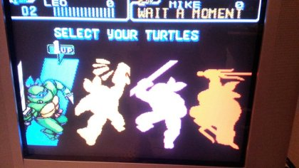 TMNT IV - Turtles in Time - Character Selection - Composite