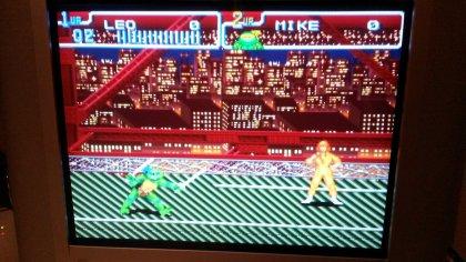 TMNT IV - Turtles in Time - Screenshot - RGB