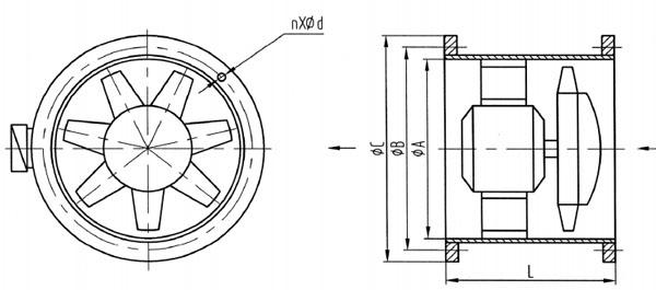 CZF Marine Exhaust Blower-Axial Fan Supplier, China Marine