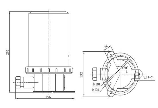 Panama Canal Steering Light Supplier, China Marine