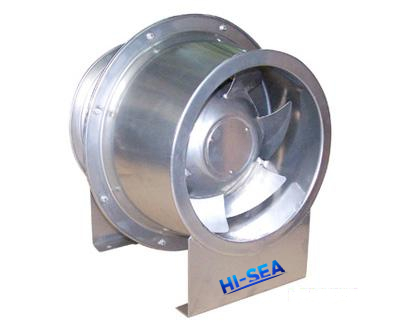 SJG Oblique Flow Pipe Exhaust Fan Supplier, China Marine