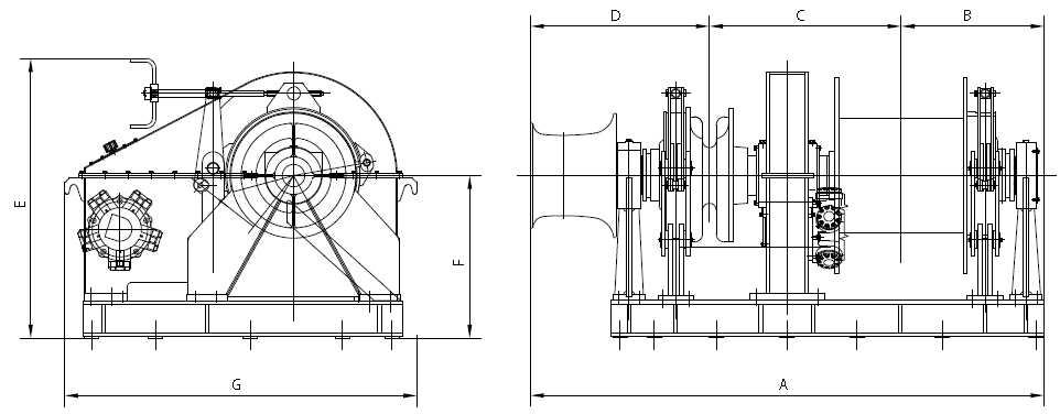 Hydraulic Combined Windlass Mooring Winch Supplier, China