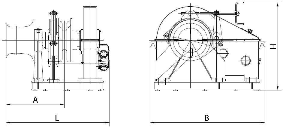 Single Hydraulic Windlass Supplier, China Marine Windlass