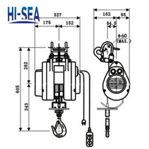 Suspension Type Mini Electric Wire Rope Hoist Supplier