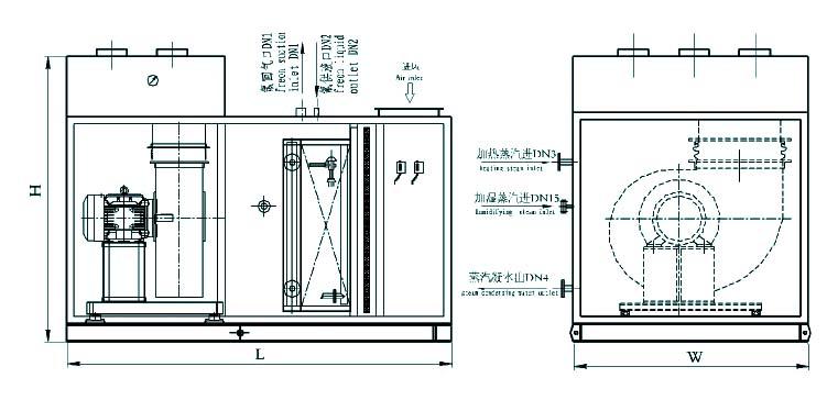 diagram of heating air con unit