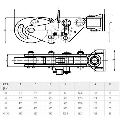 Ship Towing Hook Supplier, China Marine Towing Hook