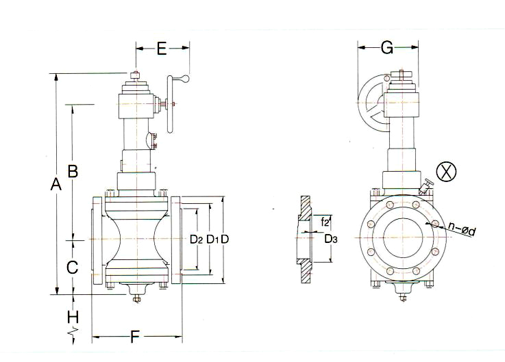 Worn Gear Operated Full Open General Valve Supplier, China