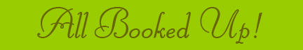 """All Booked Up!"" blog post banner"