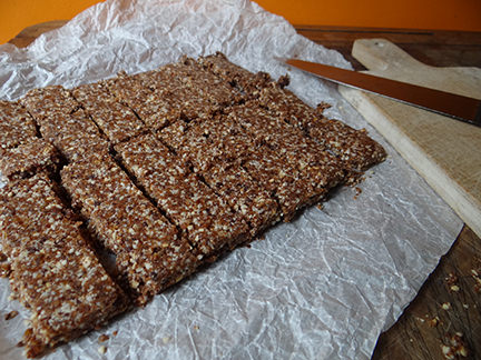 Cakes & Bakes: Date and nut energy bars