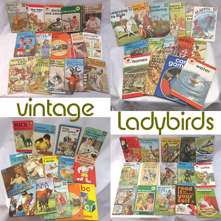 4 lots of vintage Ladybird books for sale by Thames Hospice on eBay for Charity