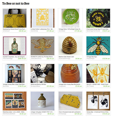 'To Bee or not to Bee' Etsy List from H is for Home