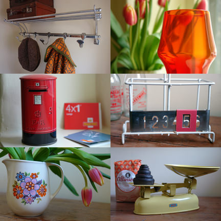 selection of items available at the 2nd H is for Home Fab vintage sale