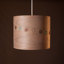 lampshade designed & made by Jane Blease