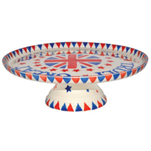 Emma Bridgewater Union Jack pottery comport
