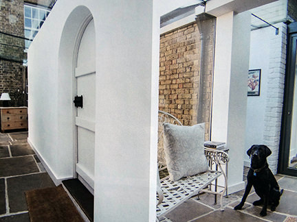 view of the new extension in the February 2014 edition of the Wealden Times magazine