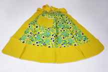 vintage yellow pinny