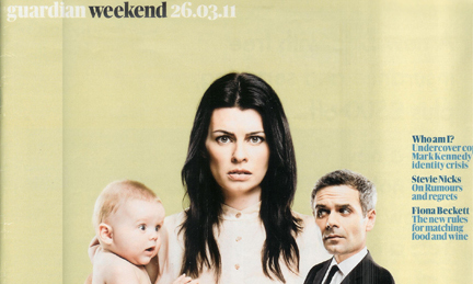 26 March 2011 Guardian Weekend Magazine cover
