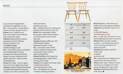 26 March 2011 Guardian Weekend Magazine cutting