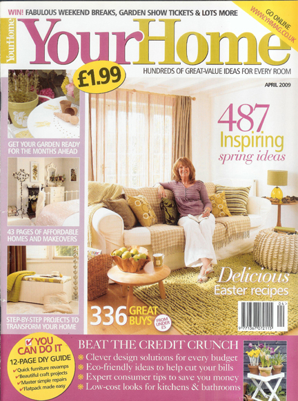 April 2009 Your Home Magazine cover