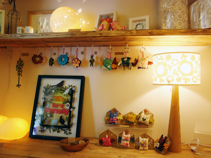 collection of items by various designer/makers available from Radiance lighting shop in Hebden Bridge
