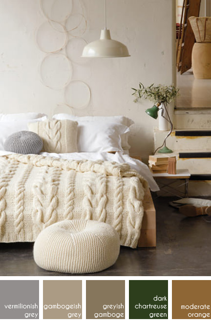 jumbo cable knit bed set