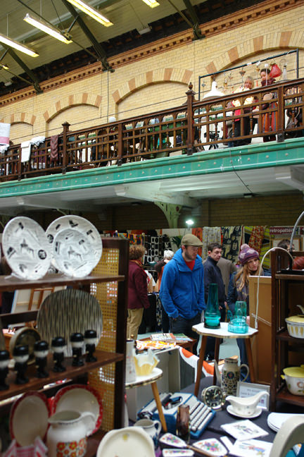 organiser of the Manchester Vintage Homeshow, Keeley Harris' stall