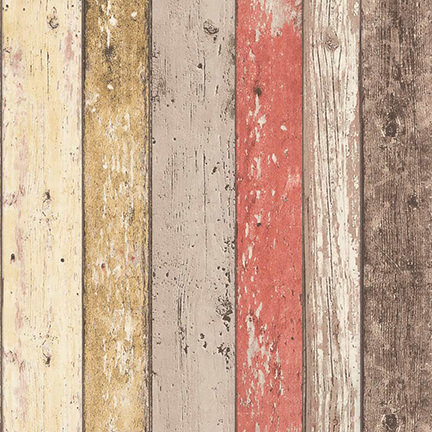 weathered wood patterned wallpaper