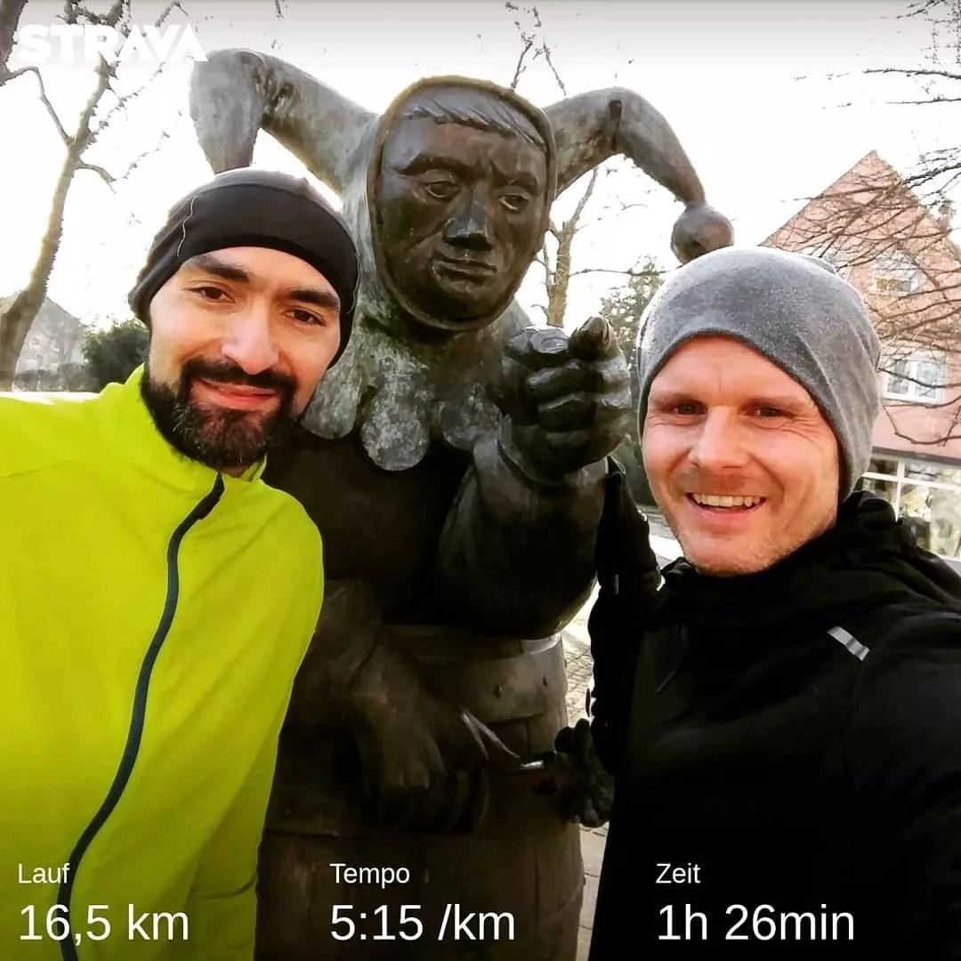 Franken – HELAU! Wie gehen dieses Jahr als Läufer! 🤡🏃♂️🎊…