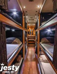 bunk entertainer coach also sleeper coaches bus rentals with his majesty rh hismajestycoach