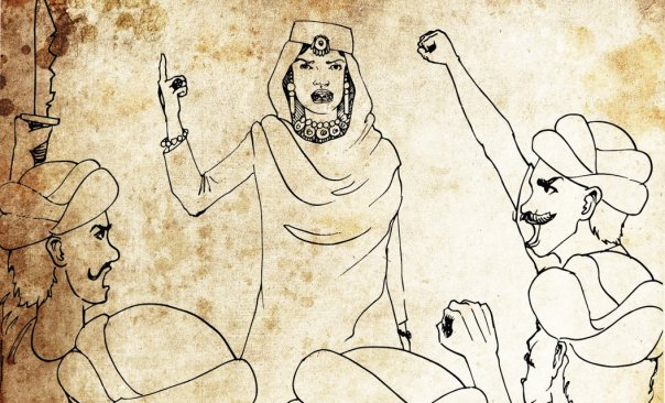 Begum Hazrat Mahal India first female freedom fighters Zubaan