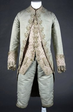 The magnificent eighteenth century man wedding suit York Castle Museum