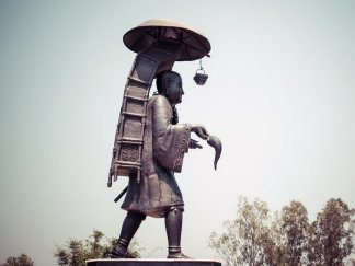 Tribute to Xuanzang the Cultural Cxchanger Xuanzang Memorial
