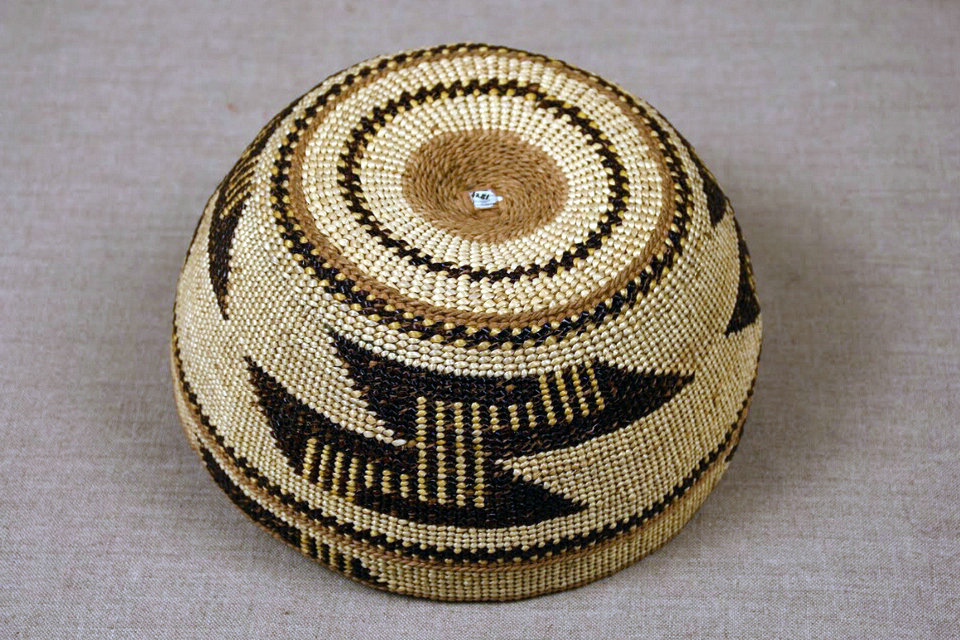 Indigenous Woven Caps of Northern California, Wyoming State