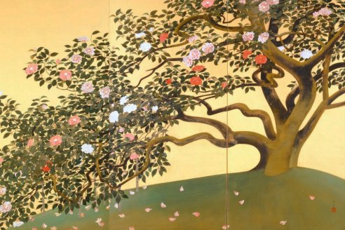 Japanese painting featuring a clear line, Yamatane Museum of Art