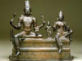 South Indian Bronzes and printed textiles Gallery, Salar Jung Museum