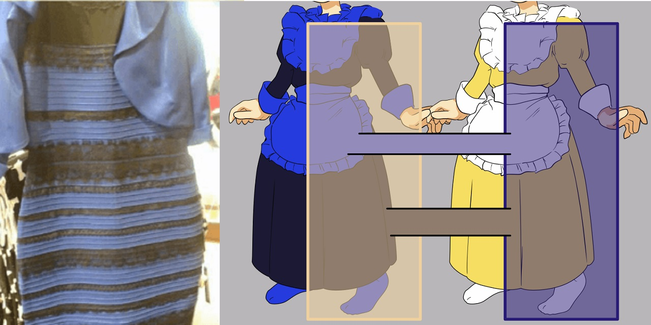 das kleid virales phänomen | hisour kunst kultur ausstellung