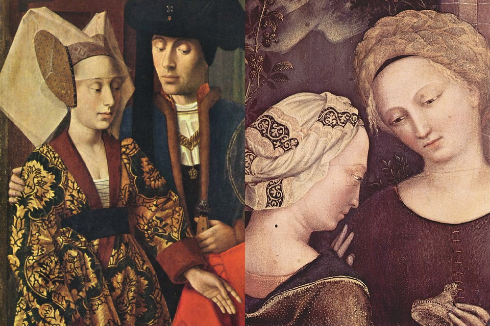 European women's fashion in 1400–1450 – HiSoUR – Hi So You Are