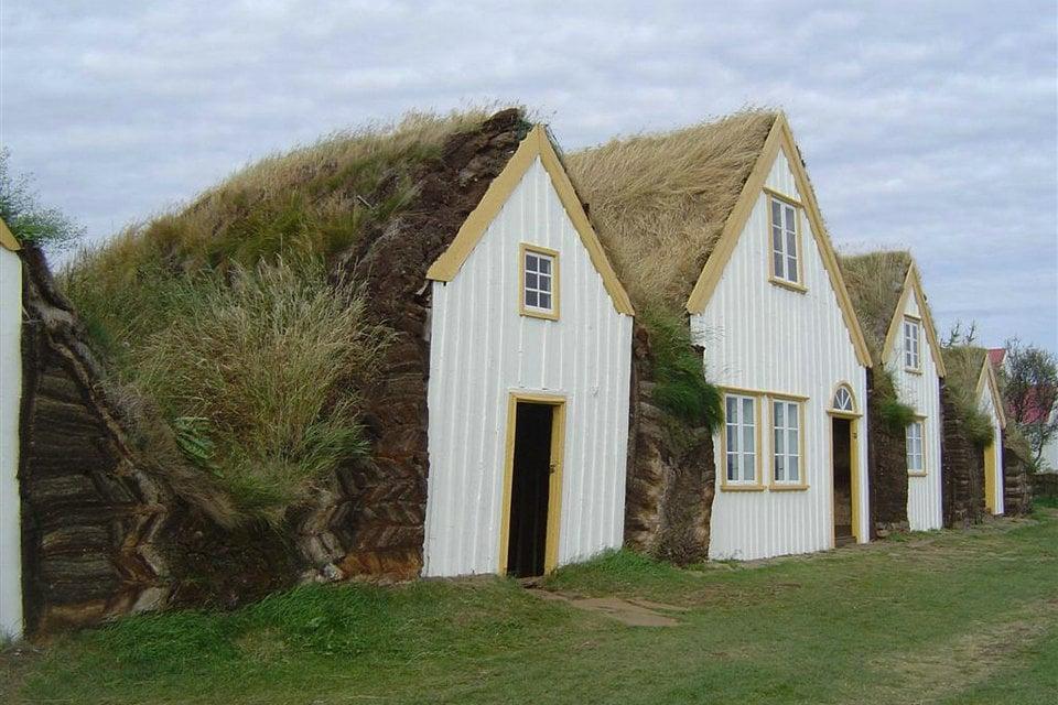 アイスランドの芝生の家 Hisour 芸術 文化 美術 歴史