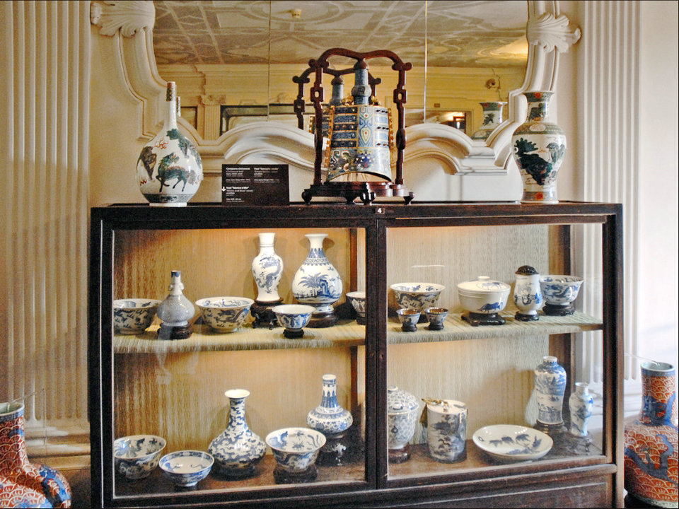 الخزف الصيني Hisour والفن تاريخ معلومات السفر