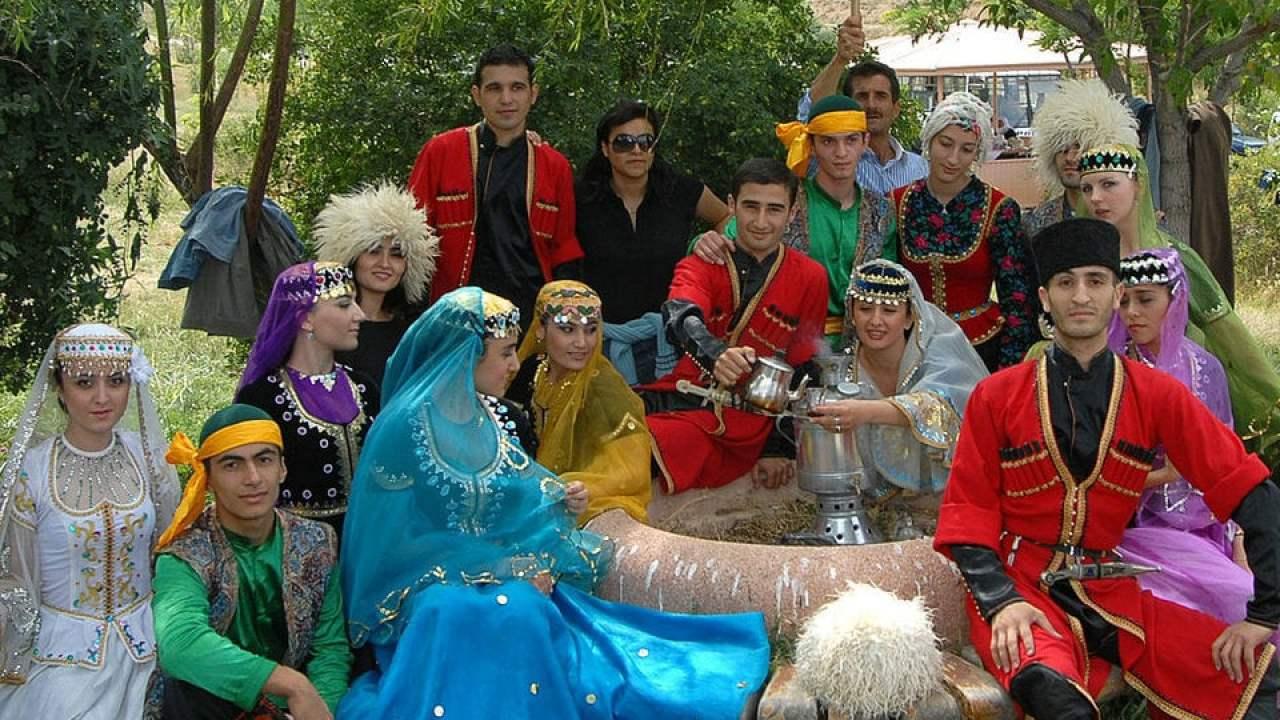 Aserbaidschaner Hisour Kunst Kultur Ausstellung