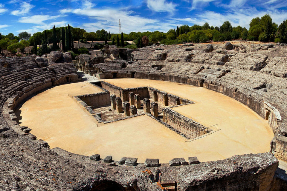 Resultado de imagen de roman cities in spain italica