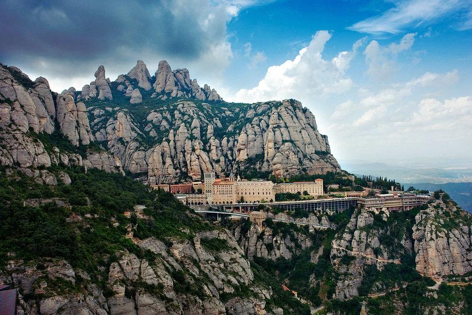 モントセラト自然公園、カタルーニャ、スペイン | HiSoUR 芸術 文化 ...