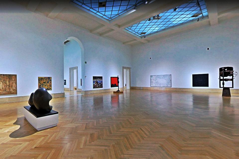 20世紀の部屋、最初のセクター、ローマの現代および現代アートの国立 ...