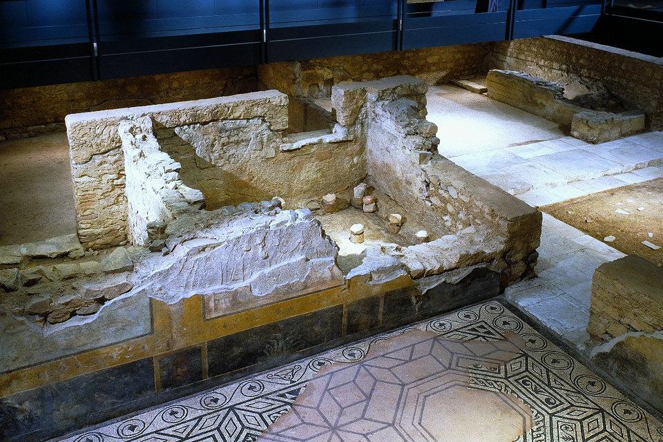 Domus Del Giardino Del Monastero E Viridarium Museo Di Santa Giulia Hisour Ciao Cosi Sei