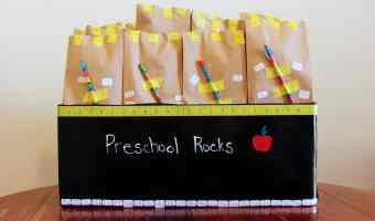 DIY: Back To School Goody Bags
