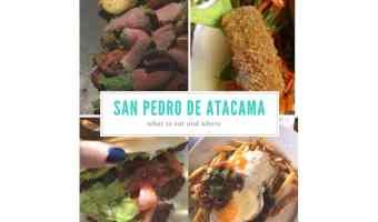 Where To Eat In San Pedro de Atacama